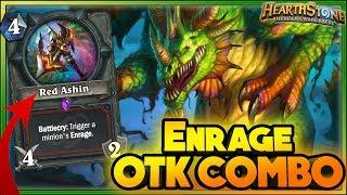 ENRAGE OTK COMBO & WTF Moments - Hearthstone Funny Rng Moments