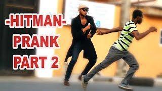 HITMAN PRANK PART 2! | Zfancy