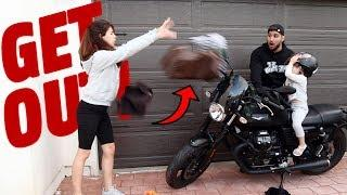 I BOUGHT MYSELF A $10,000 MOTORCYCLE (PRANK!!!)