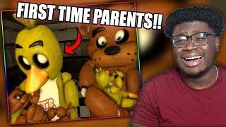 FREDDY AND CHICA HAVE BABIES!   Funny FNAF SFM Animations Compilation Reaction!