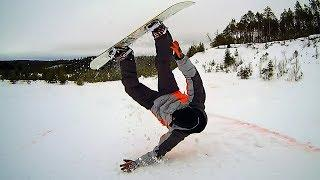 Crazy Snowboarding Freestyle (Lazy Snowboarding Failstyle) | Extreme Sports