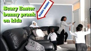 SCARY EASTER BUNNY PRANK ON THE KIDS! ????