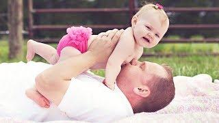 Cutest Daddy and Baby Moments - Funny Cute Video