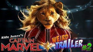 CAPTAIN MARVEL Weird Trailer #2 | CAPTAIN LION KING by Aldo Jones