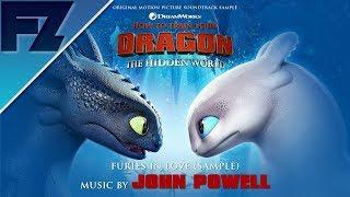 HTTYD: The Hidden World (Original Soundtrack Sample): Furies in Love - John Powell