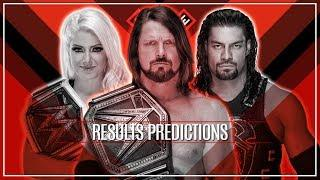 WWE EXTREME RULES 2018 RESULTS PREDCITONS HD