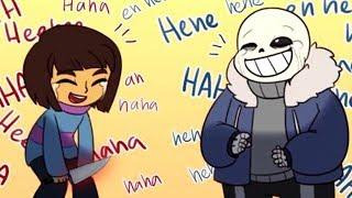 undertale funny comic dubs (try not to laugh!)
