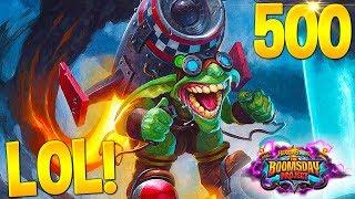 HEARTHSTONE Best Daily FUNNY and WTF Moments 500!