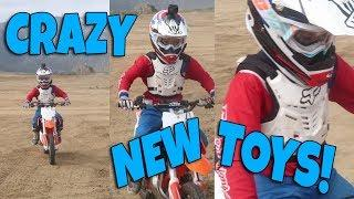 CRAZY KIDS ON CRAZY TOYS!