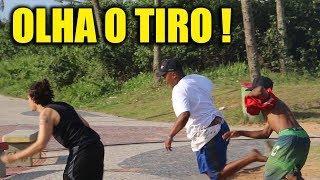 PEGADINHA BOLSONARO BOTANDO TERROR SUSTO (PRANK)