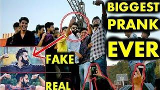 Fake Celebrity Prank | PARMISH VERMA | LIVE ON STAGE