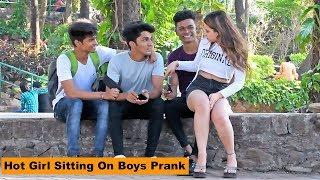 Extreme Sitting On People Prank (HOT GIRLS EDITION) |Pranks In India