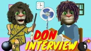 Don funny interview talking tom comedy | magic call app