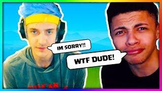 "MYTH REACTS TO NINJA SAYING ""N WORD"" ON STREAM! Fortnite Funny & Savage Moments (Daily Best Moments)"