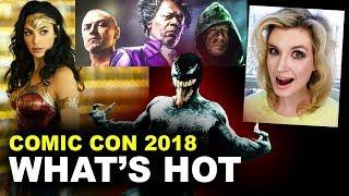 Comic Con 2018 - Aquaman, Wonder Woman, Glass, Venom - Beyond The Trailer