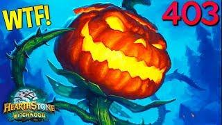 Hearthstone Daily WTF Funny Moments 403! Lucky and Epic Plays!