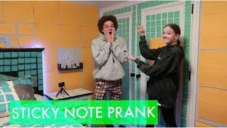 Sticky Note Prank!    Jayden Bartels