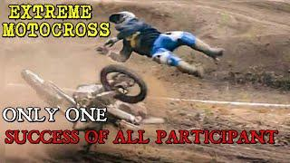 Extreme motocross, only one success of all participants