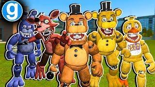 Brand New Fazbear Ultimate Pill Pack Unwithered Edition - Gmod Fnaf Sandbox Funny Moments