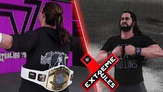 W2k18 Gameplay - Seth Rollins Vs Dolph Ziggler Iron Man Match Extreme Rules Highlights HD