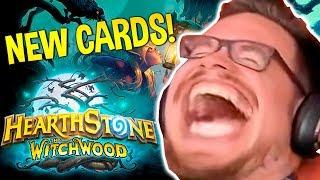 THE WITCHWOOD GAMEPLAY! Hearthstone Daily WTF Funny Moments 394! Lucky and Epic Plays!