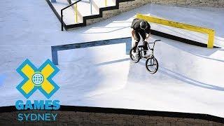 Lewis Mills wins BMX Street silver | X Games Sydney 2018