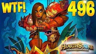 HEARTHSTONE Best Daily FUNNY and WTF Moments 496!