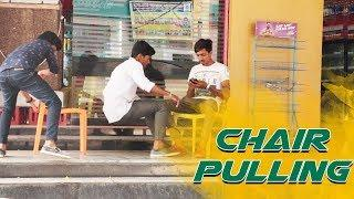 Chair Pulling Prank | Comment Trolling Pranks #15 | Ultimate Crazy Dares | Vinay Kuyya