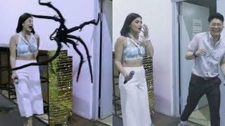 Vhong Navarro SPIDER PRANK kay Anne Curtis sa Showtime! ???? Laughtrip!