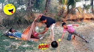 Must Watch New Funny Comedy Videos 2019 | Episode 17 | #LungiFun