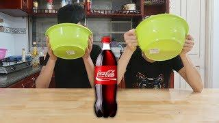 Thử Thách Thi Uống CoCa Bằng Chậu - Prank HD