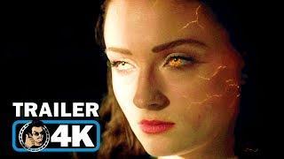 X-MEN: DARK PHOENIX Trailer #1 (4K ULTRA HD - 2019) Marvel Movie