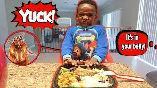 Super Siah Ate Roaches Prank!!