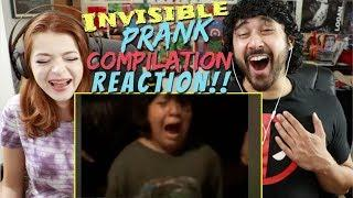 INVISIBLE PRANK Video Compilation! REACTION!!!