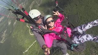 My first paragliding fly