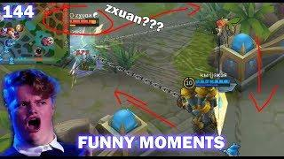 Mobile Legends Funny Moments Episode 144 | Lucu |  OMG  300 IQ Plays Moments |