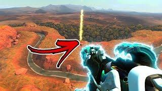 LONGEST PHARAH ROCKET TO GET A KILL EVER!?! - Overwatch Funny Moments Best Plays 70