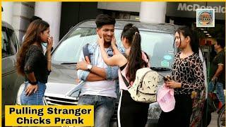 Pulling Stranger Cheeks Prank On Public By Shelly Sharma ||P4 Prank||