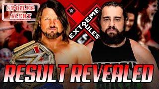 Spoiler On AJ Styles vs. Rusev Match At Extreme Rules 2018