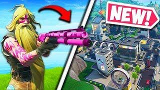 *NEW* COMBAT SHOTGUN & TILTED TOWERS! - Fortnite Funny Fails and WTF Moments! #552