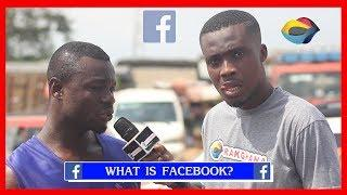What is FACEBOOK? | Street Quiz | Funny Videos | Funny African Videos | African Comedy