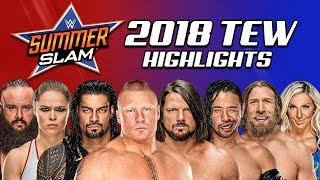WWE Summerslam PPV | WWE 2018 (Total Extreme Wrestling)