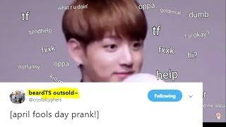ARMYs prank BTS on the April fools ^^ | BTS news
