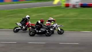 Cool FAB British Minibikes Champ. 2018: Rd 2, Clay Pigeon. Extreme 200 Pitbike