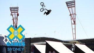 Doug Oliveira qualifies first in BMX Big Air | X Games Sydney 2018