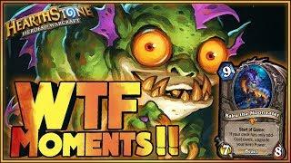 Hearthstone - WTF Moments, RAGE!! - Funny and lucky Rng Moments