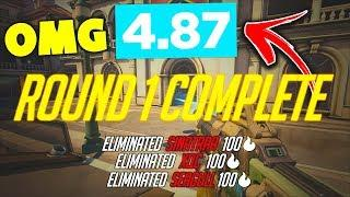They Won The Round in 4.87 SECONDS!! - Overwatch Funny Moments & Best Plays #98