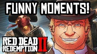 RDR2 FUNNY FAILS & DEATHS FUNTAGE! Red Dead Redemption 2