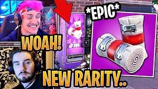 Streamers React to *EPIC* Rarity Bandages Item! (BUG) - Fortnite Best and Funny Moments