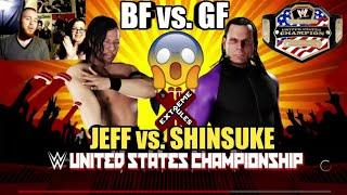 GF vs. Noology WWE 2K18! JEFF HARDY vs. SHINSUKE NAKAMURA EXTREME RULES 2018 USA CHAMPIONSHIP MATCH!